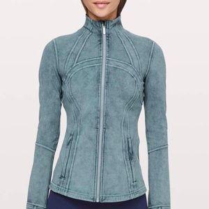 NWOT. Lululemon Define Jacket Washed Petrol Blue